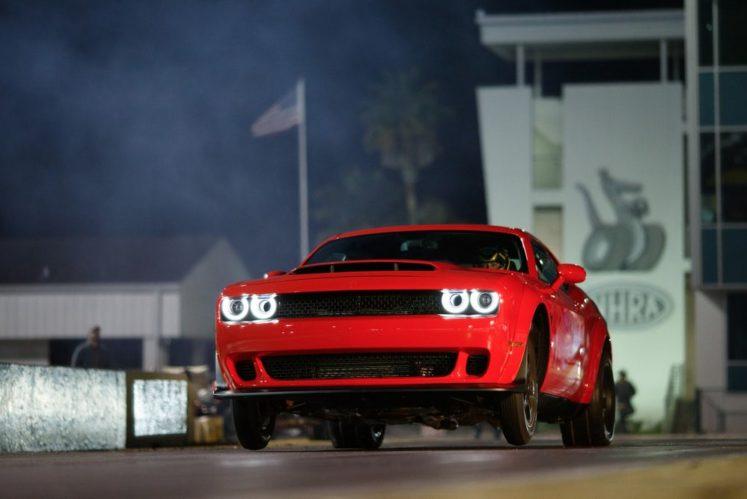 The 840 HP Dodge Challenger SRT Demon 2018 3
