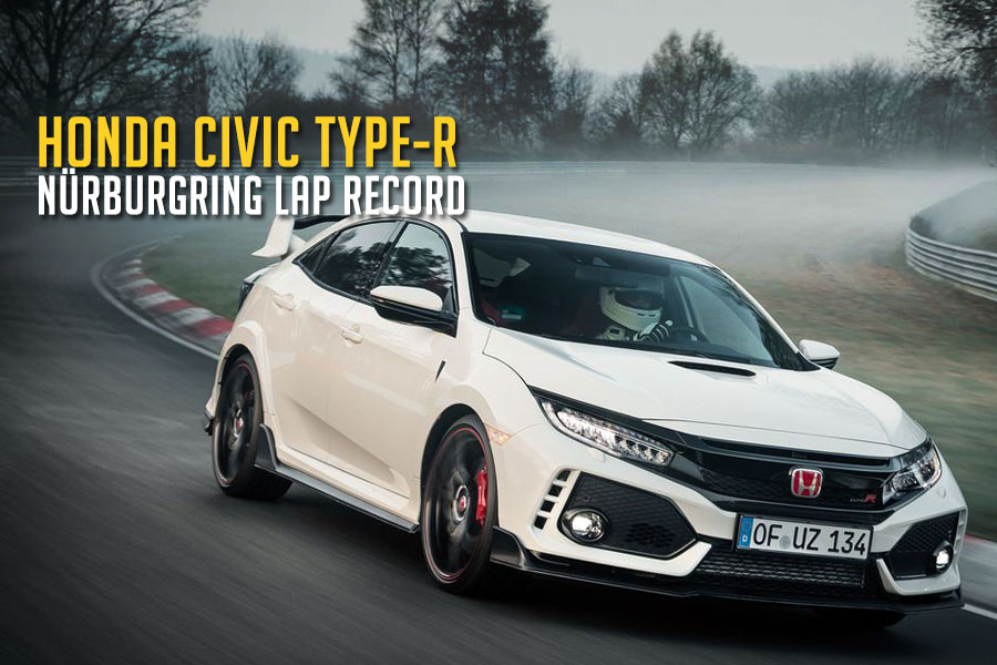 2017 Honda Civic Type R Captures Nurburgring Lap Record 4