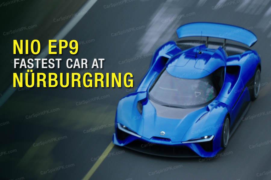 All-Electric NIO EP9 Beats Lamborghini Huracan Performante's Nurburgring Time 5