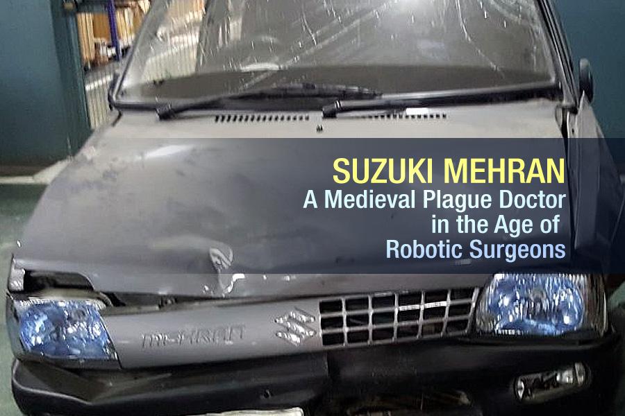 Suzuki Mehran: A Medieval Plague Doctor in the Age of Robotic Surgeons 9