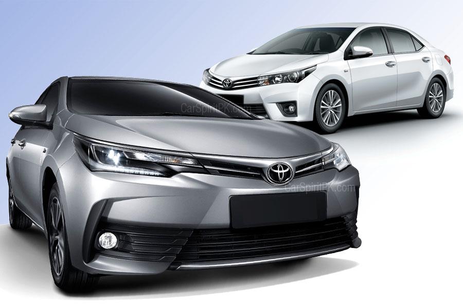 2017 Toyota Corolla- New (Facelift) vs Old 5