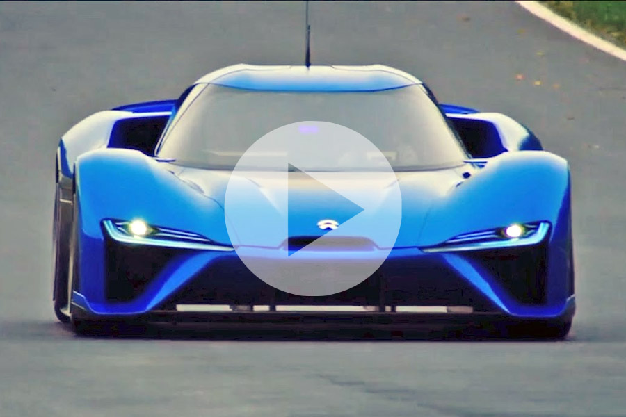 Video: Watch the Brutal Acceleration of the World's Fastest NIO EP9 7