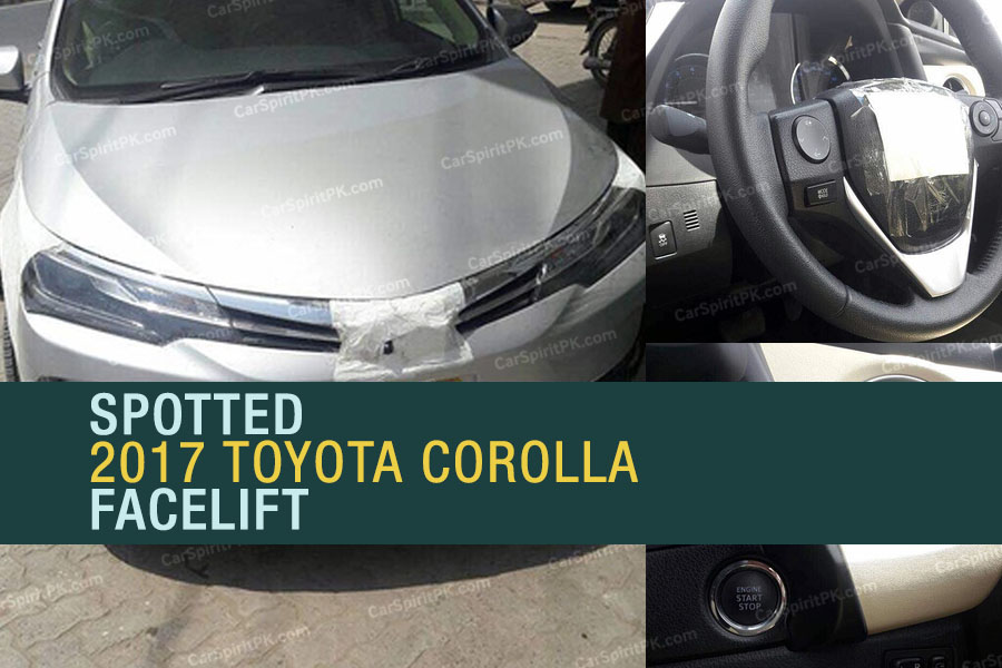 Spotted: 2017 Toyota Corolla Facelift 7