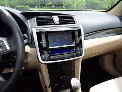 The Zotye Z300 Sedan 11