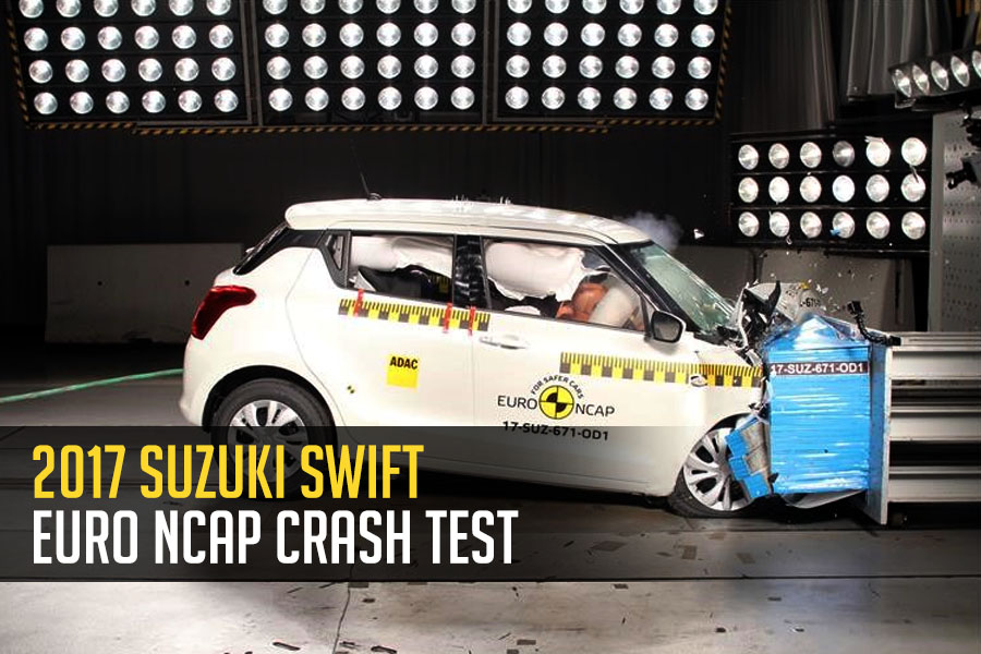 2017 Suzuki Swift Earns 3 Stars in Euro NCAP Crash Test 5