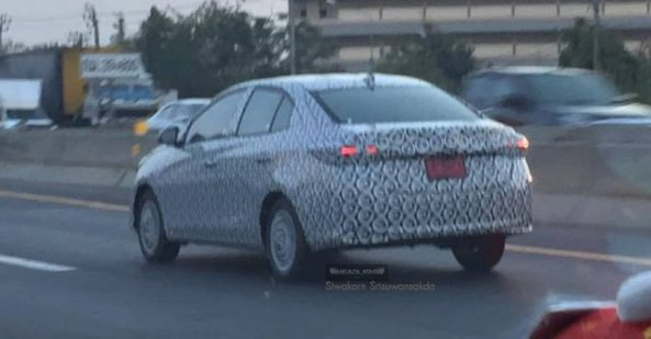 Toyota to Launch Yaris Sedan in Asian Markets 2