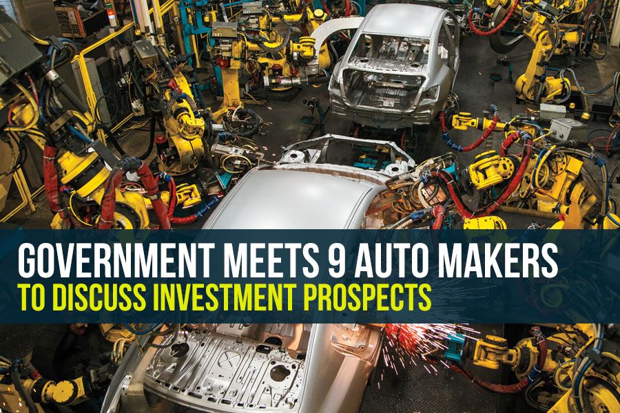 Government Meets 9 Auto Makers to Discuss Investment Prospects 4
