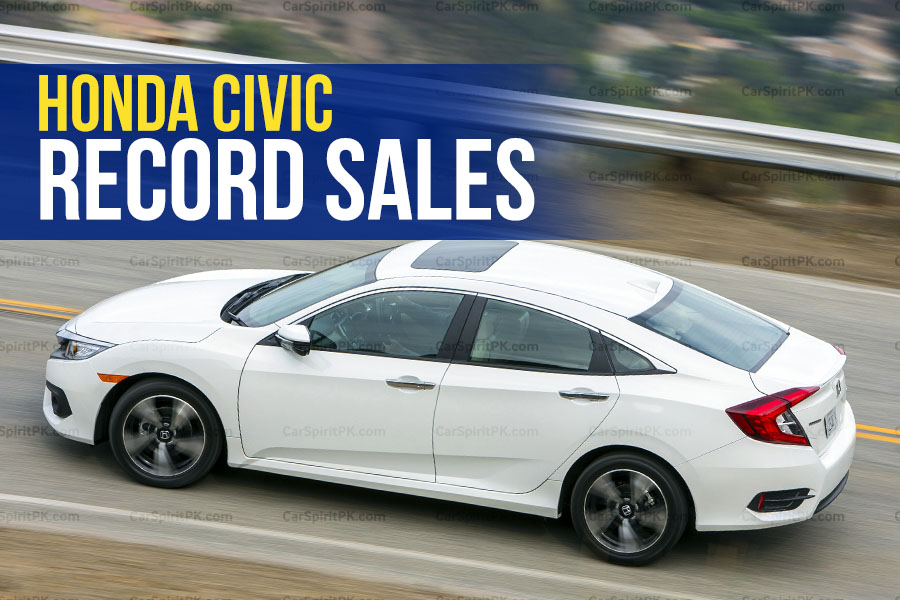 Record Sales for Honda Civic In A Single Year 6
