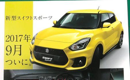All New Suzuki Swift Sport Catalogue Leaked 2