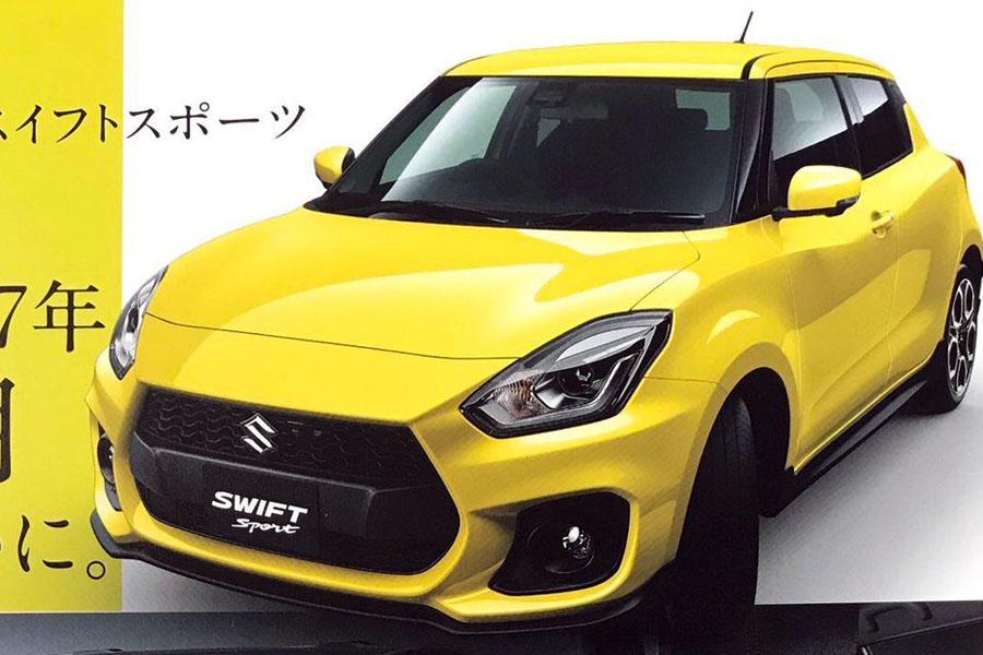 All New Suzuki Swift Sport Catalogue Leaked 5