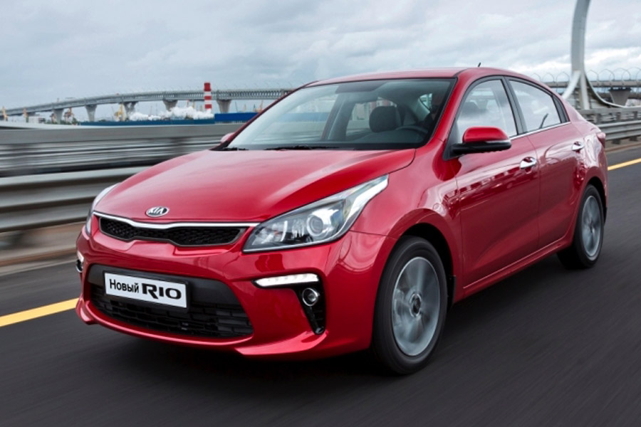 2017 KIA Rio Sedan Revealed in Russia 2