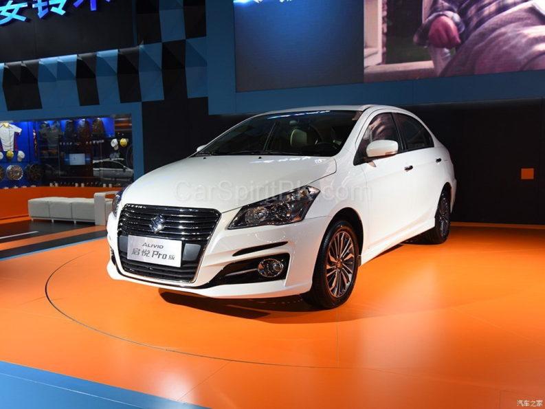 Suzuki Ciaz (Alivio Pro) Facelift Unveiled 7