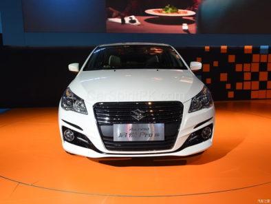 Suzuki Ciaz (Alivio Pro) Facelift Unveiled 8