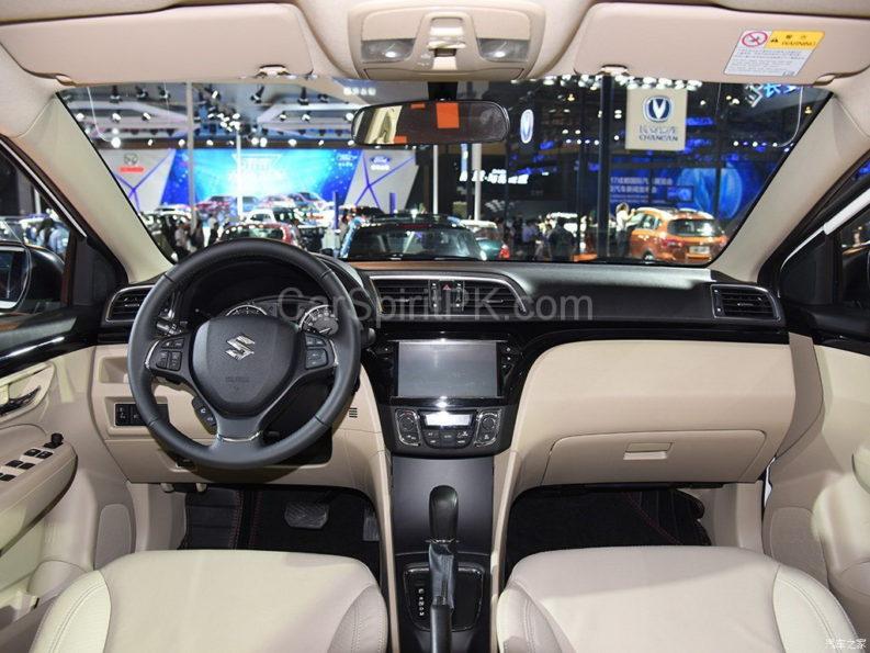 Suzuki Ciaz (Alivio Pro) Facelift Unveiled 1