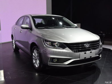 All New FAW A50 Sedan Displayed at 2017 Chengdu Auto Show 2