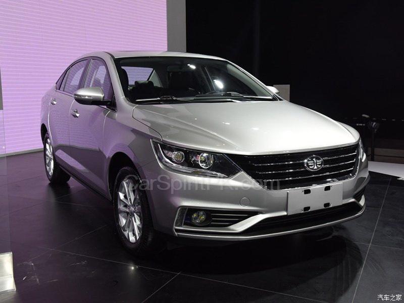 All New FAW A50 Sedan Displayed at 2017 Chengdu Auto Show 5
