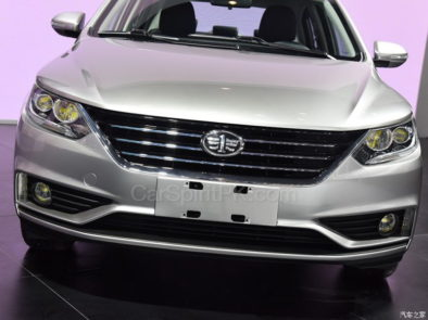 All New FAW A50 Sedan Displayed at 2017 Chengdu Auto Show 3