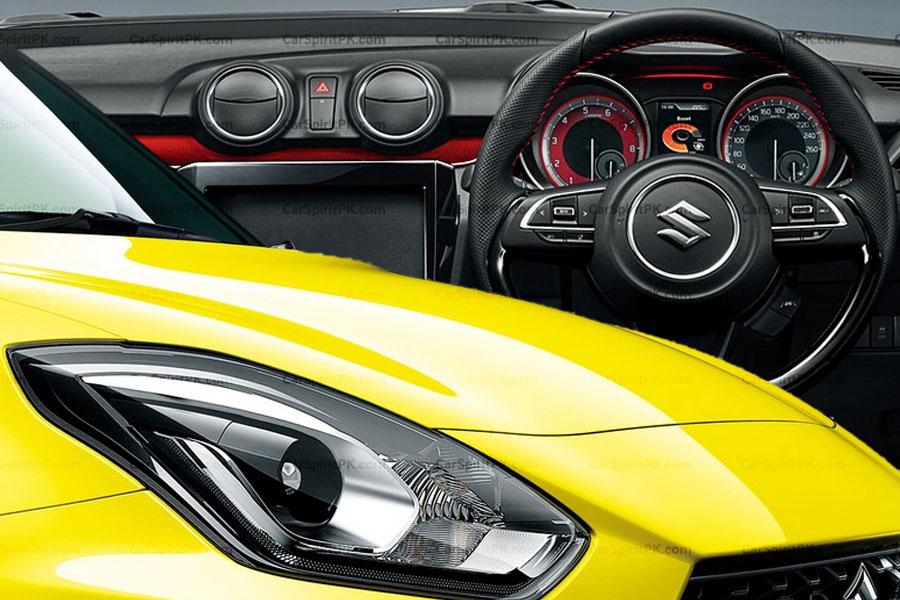 Suzuki Releases Interior Photos of New Swift Sport 7