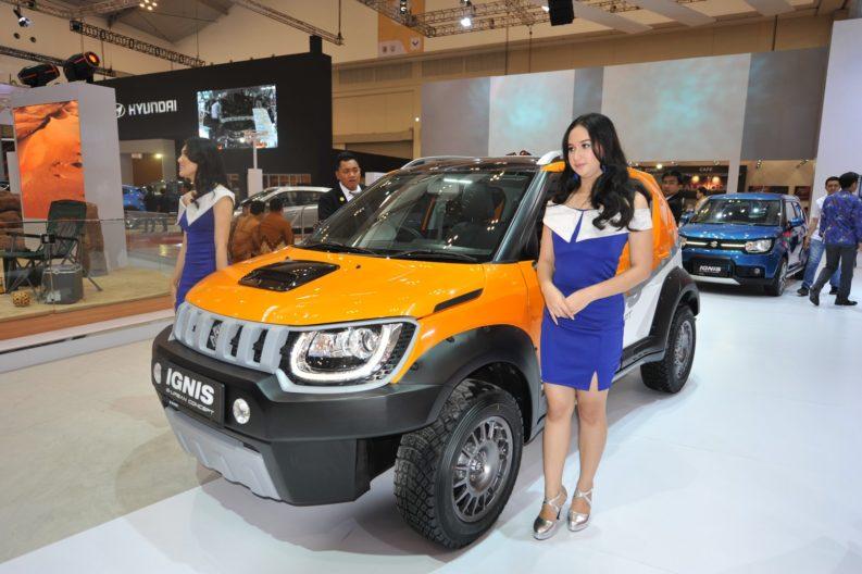 GIIAS 2017: Suzuki Ignis Urban Concepts 1