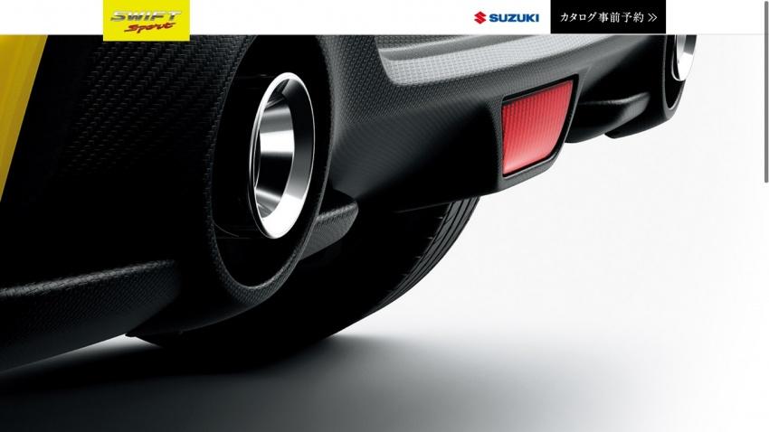 Suzuki Releases Interior Photos of New Swift Sport 5