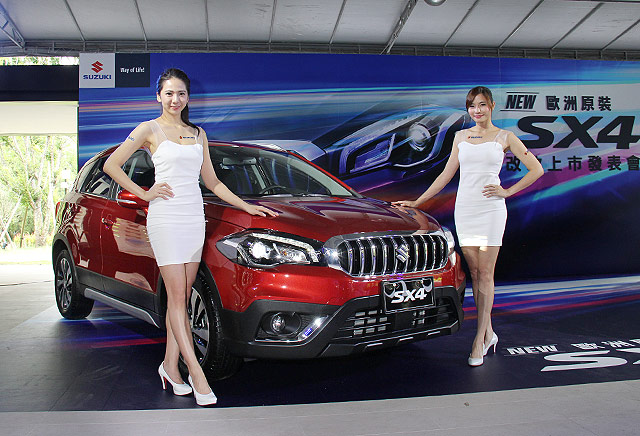 2017 Suzuki S-Cross Facelift Launched in Taiwan 1