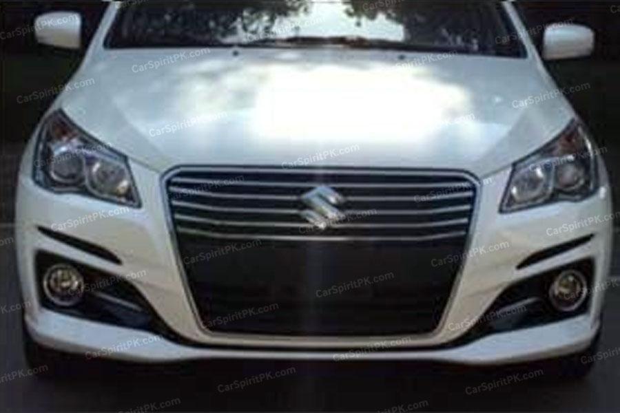 Suzuki Ciaz/ Alivio Facelift Spotted 4