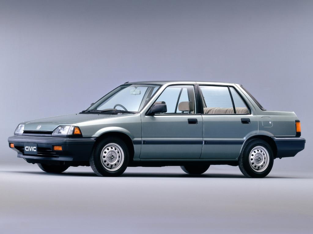 The History of Honda Civic 1
