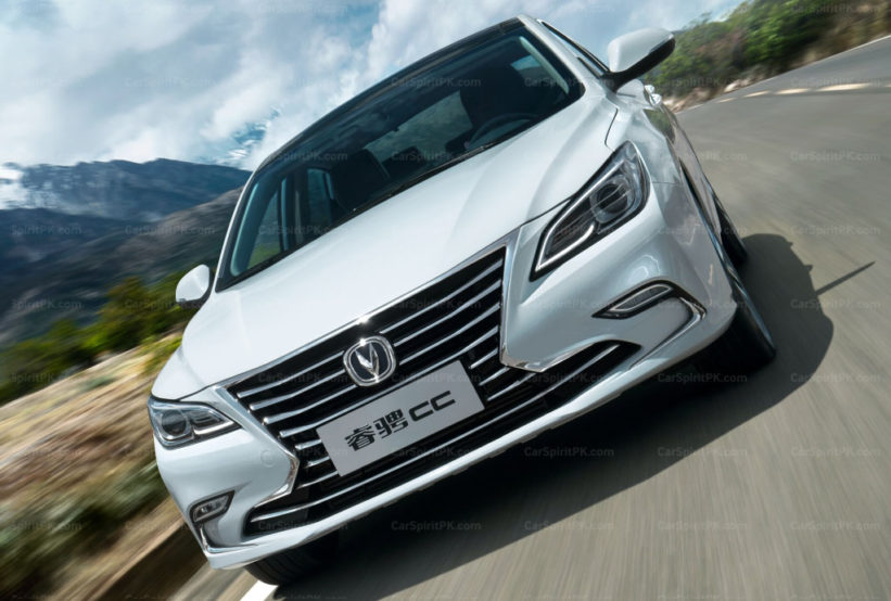 Changan will Launch the Impressive Raeton CC in China by Year End 2