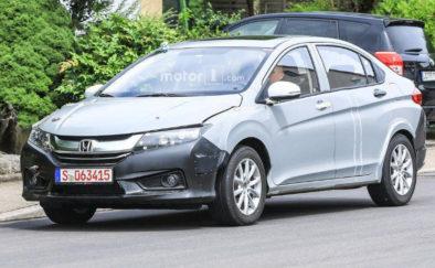 Honda City Hybrid Spotted Testing in Europe 2