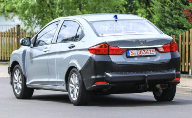 Honda City Hybrid Spotted Testing in Europe 3