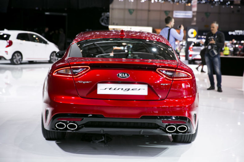 KIA will Launch Stonic and Stinger in Europe 10