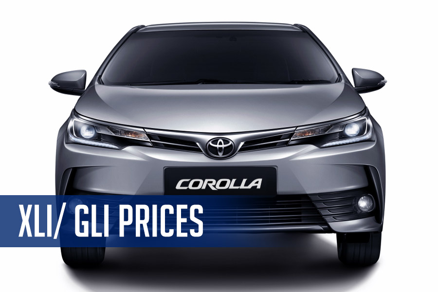 2017 Toyota Corolla 1.3 XLi/ Gli Prices 6