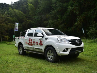 2017 Foton Tunland With Refreshed Interior Launched in China 11