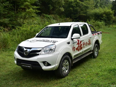 2017 Foton Tunland With Refreshed Interior Launched in China 8