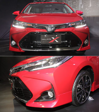 Toyota Corolla Altis X Package Prices Revealed 2