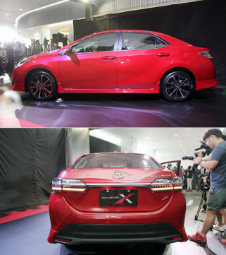 Toyota Corolla Altis X Package Prices Revealed 3