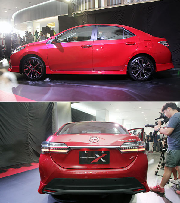 2017 Toyota Corolla Altis X Launched in Taiwan 4