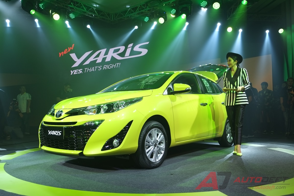 2018 Toyota Yaris Hatchback Launched in Thailand 4