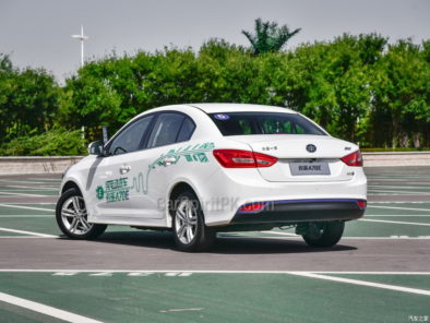 Pure Electric FAW A70E Launched in China 8