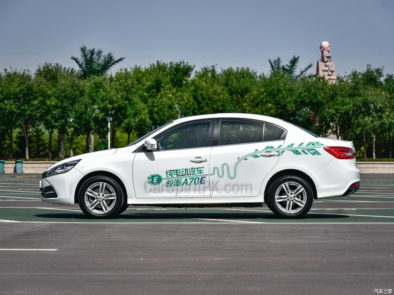 Pure Electric FAW A70E Launched in China 6