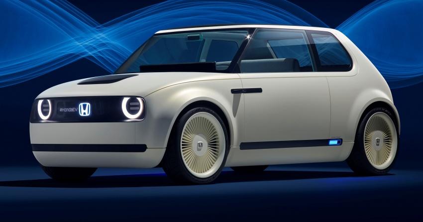 Honda Urban EV Concept Revealed at Frankfurt- Production Version to Arrive in 2019 2