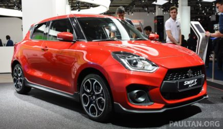 All New Swift Sport Unveiled at 2017 Frankfurt Motor Show 10