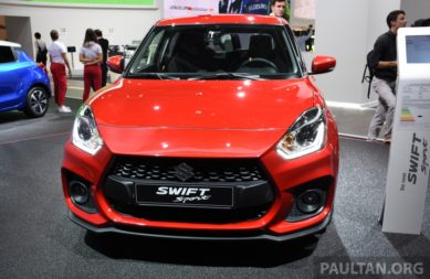 All New Swift Sport Unveiled at 2017 Frankfurt Motor Show 11