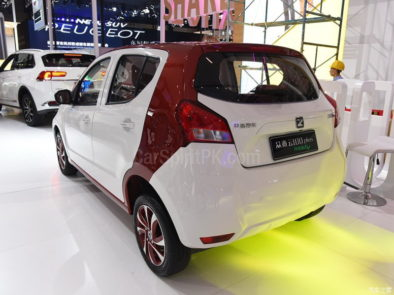 Zotye Z100 Plus at 2017 Chengdu Auto Show 4