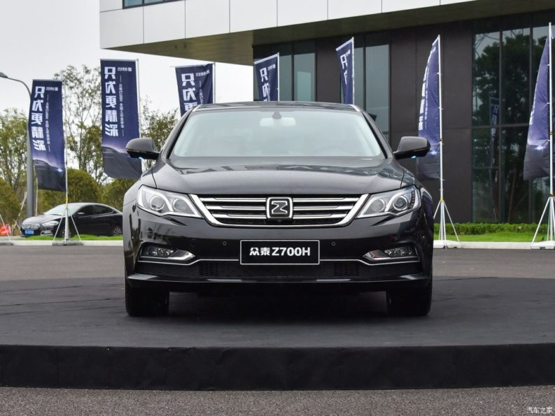 Zotye Launches the Stunning Z700H Facelift in China 3