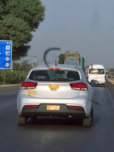 KIA Vehicles Spotted Testing 3