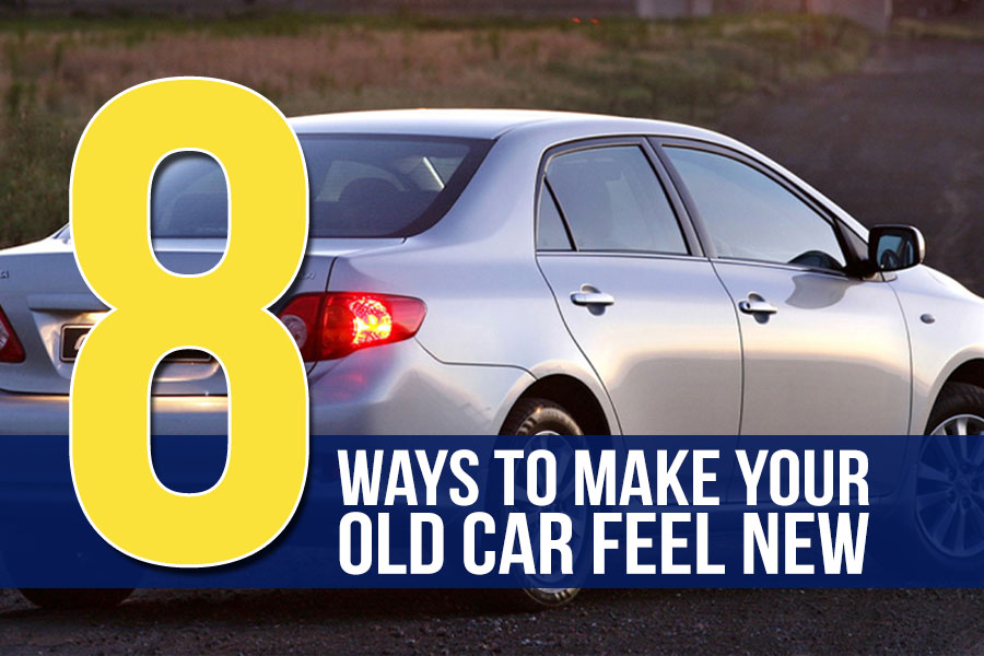8 Ways to Make Your Old Car Feel New 4