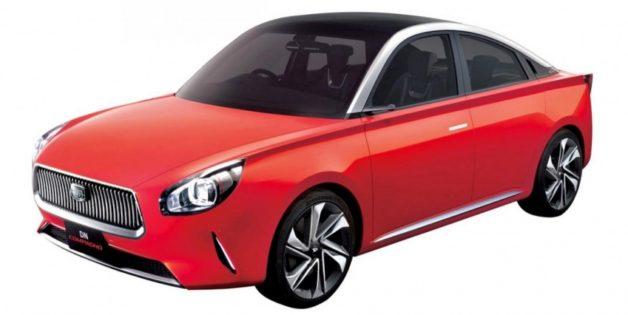 Daihatsu DN Compagno 4 Door Coupe Concept 1