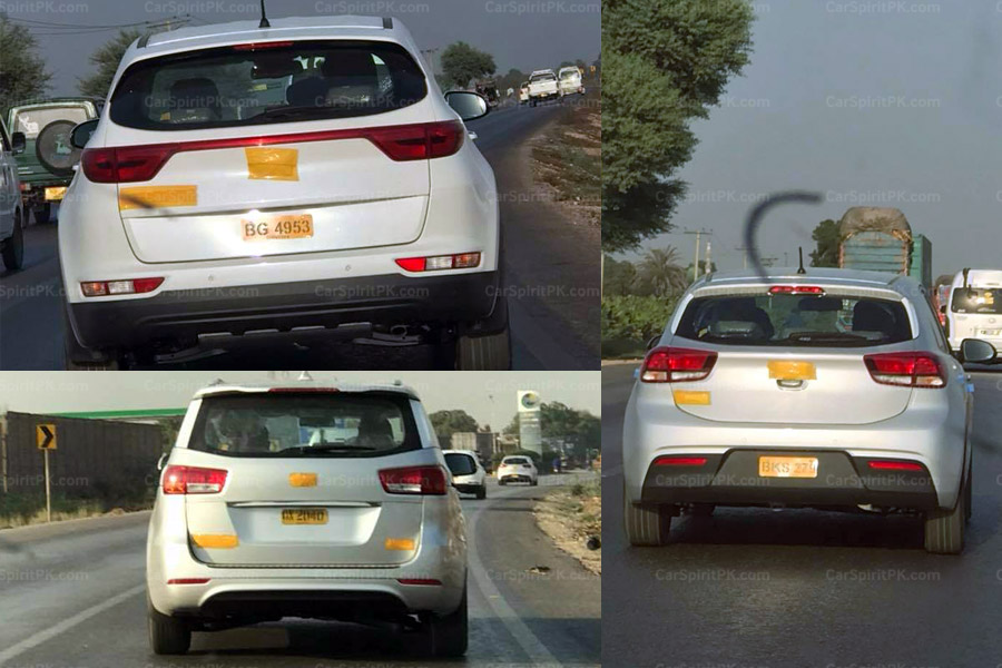 KIA Vehicles Spotted Testing 5
