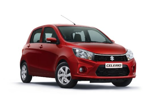 Suzuki Celerio Facelift Launched in India at INR 4.15 lac 1